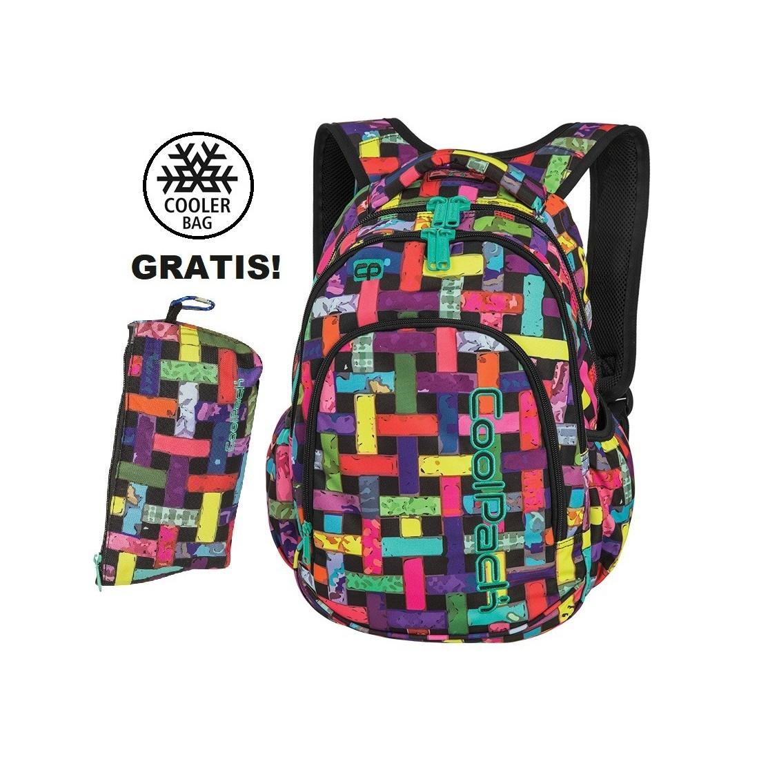 b798cf72972d0 Plecak szkolny (do klas 1-3) CoolPack CP PRIME RIBBON GRID kolorowe wstążki
