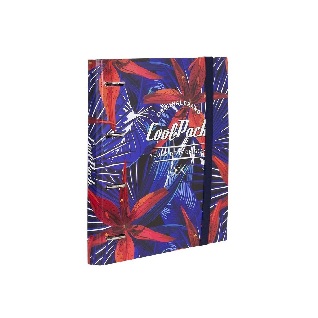 Segregator A4 z kartkami CoolPack CP RING BOOK HAWAIAN BLUE A310