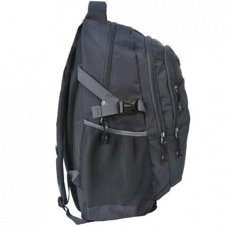 Plecak młodzieżowy grafitowy na laptop