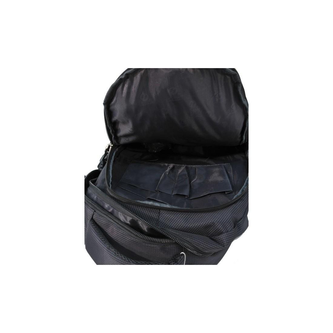 Plecak młodzieżowy grafitowy na laptop - plecak-tornister.pl