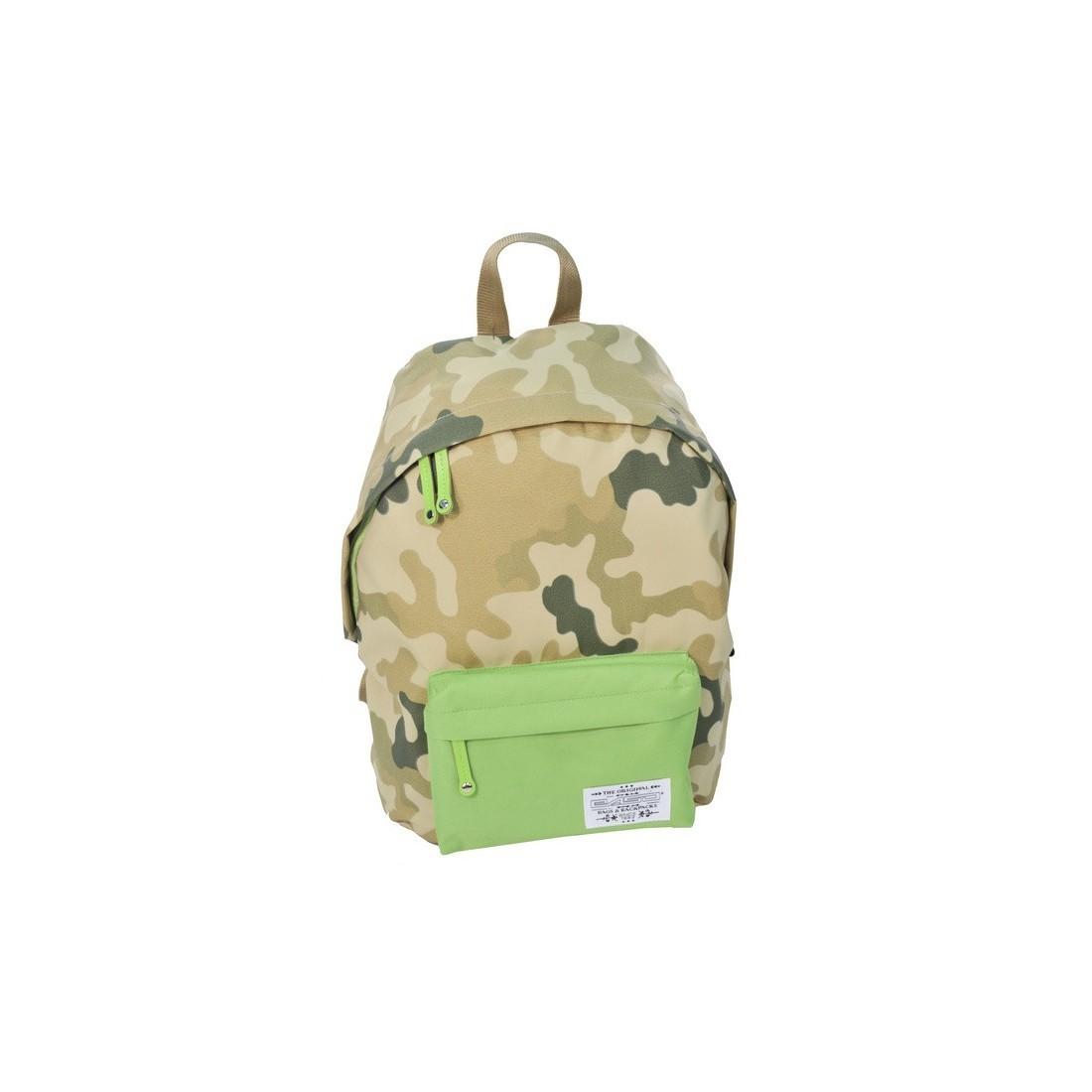 Plecak młodzieżowy Moro Khaki zielony - plecak-tornister.pl