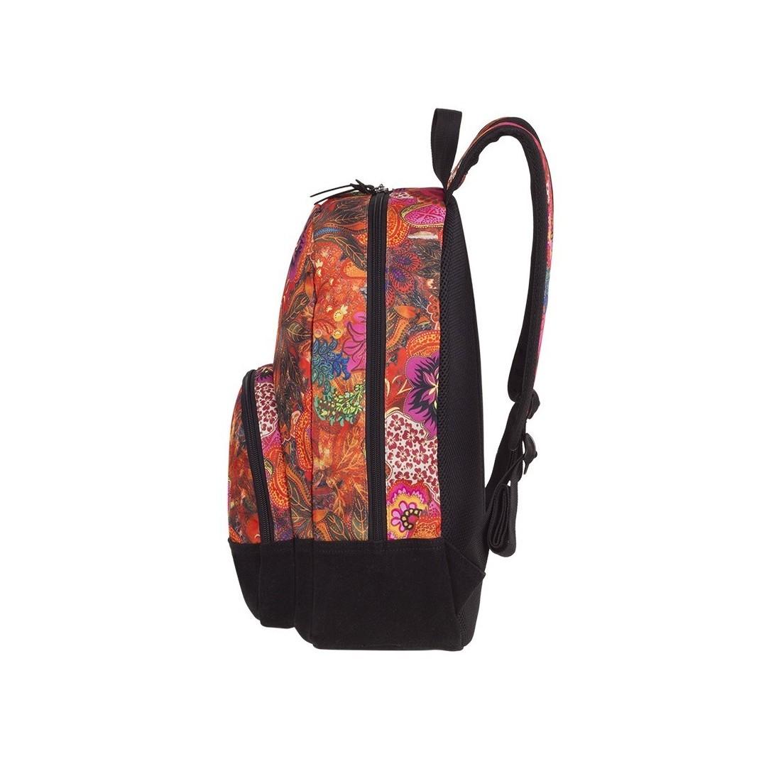 2a5aacb649385 ... Plecak w kwiaty pomarańczowy dla dziewczyny CoolPack CP CLASSIC FLOWER  EXPLOSION ...