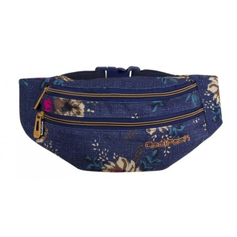 889cd842f554a ... torba na pas CoolPack CP MADISON BLUE DENIM FLOWERS. Dodaj do koszyka