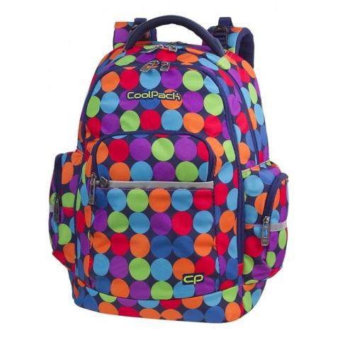 Plecak szkolny CoolPack CP BRICK BUBBLE SHOOTER kolorowe kulki