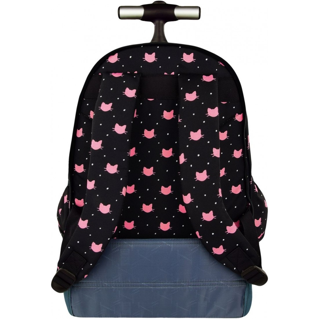 92c3cd347d11d Plecak na kółkach ST.RIGHT MEOW różowe koty dla dziewczyn HIT 2018 ...
