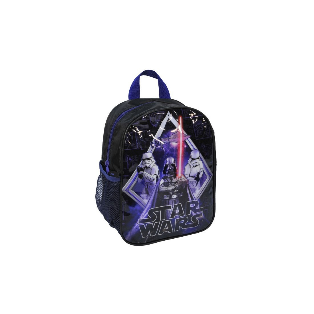 Plecaczek Star Wars czarno-fioletowy - plecak-tornister.pl
