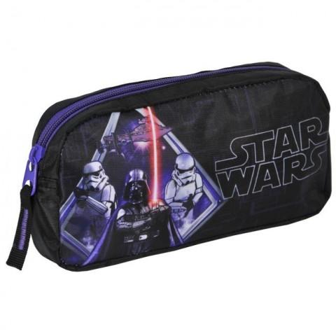 Saszetka Star Wars czarno-fioletowa