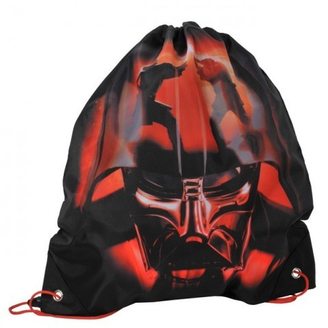 Worek szkolny Star Wars czarno czerwony