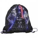 Worek szkolny Star Wars czarno-fioletowy