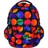 Plecak szkolny ST.RIGHT COLOURFUL DOTS kolorowe kule - BP01