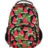 Plecak szkolny 23 ST.RIGHT WATERMELON czerwony arbuz dla dziwczyn