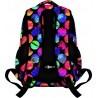 Plecak szkolny 32 ST.RIGHT COLOURFUL DOTS wielokolorowe kule młodzieżowy
