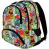 Plecak szkolny ST.RIGHT COMICS kolorowy komiks full print - BP07