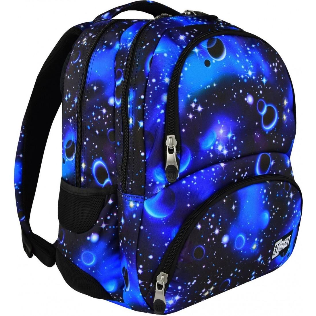 adaec038070dd ST.RIGHT - model 07 posiada wszystkie cechy plecaka szkolnego z prawdziwego  zdarzenia. Plecak otrzymał prestiżową nagrodę za innowacyjność na targach  ISPA ...