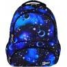 Plecak szkolny ST.RIGHT COSMOS galaktyka niebieski - BP07