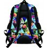 Plecak szkolny ST.RIGHT PARADISE rajska wyspa kwiaty - BP07
