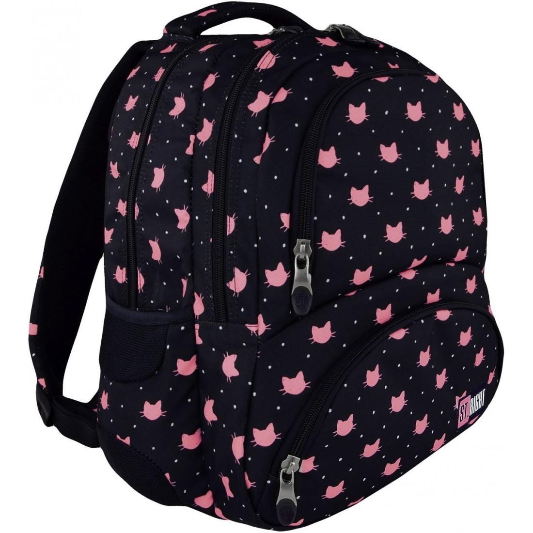 39e10526a2062 ST.RIGHT - model 07 posiada wszystkie cechy plecaka szkolnego z prawdziwego  zdarzenia. Plecak otrzymał prestiżową nagrodę za innowacyjność na targach  ISPA ...