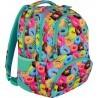 Plecak szkolny ST.RIGHT DONUTS kolorowe ciastka/pączki - BP07