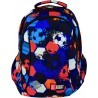 Plecak dla pierwszoklasisty ST.RIGHT FOOTBALL kolorowe piłki - BP26
