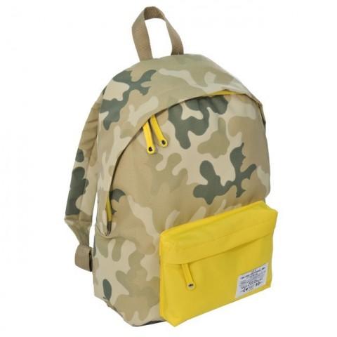 Plecak młodzieżowy Moro Khaki żółty