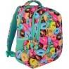 Plecak dla pierwszoklasisty ST.RIGHT DONUTS kolorowe pączki/ciasteczka - BP26
