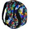 Plecak szkolny ST.RIGHT PARADISE rajska wyspa kolorowe kwiaty - BP02