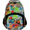 Plecak szkolny 23 ST.RIGHT COMICS kolorowy komiks dla chłopaka