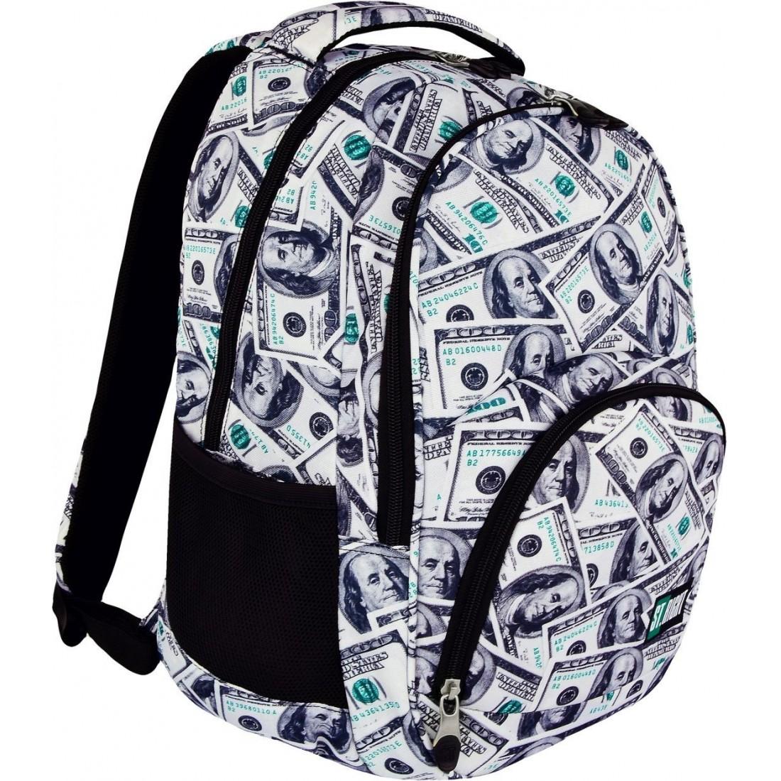 56cc0beef6d43 Plecak szkolny 23 ST.RIGHT DOLLARS dolary full print - plecak ...