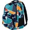 Plecak szkolny ST.RIGHT ICE BLUE kolorowe trójkąty abstrakcja młodzieżowy styl
