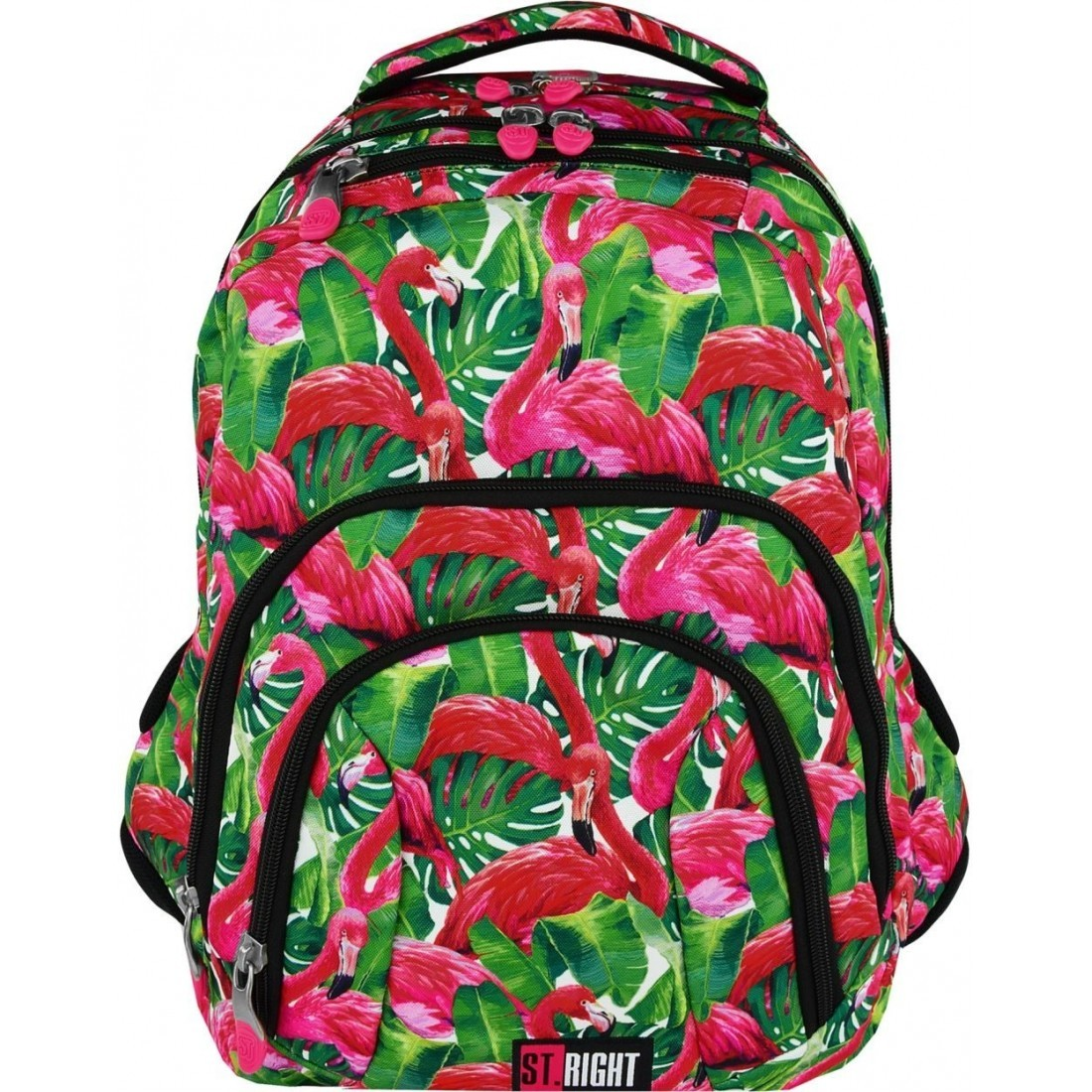 93bee142e4281 duży plecak szkolnyST.RIGHT model 25 został stworzony dla starszych uczniów  szkół podstawowych i licealistów - pojemność ok. 28 litrów (wysokość 45  cm). ...