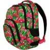 Plecak szkolny ST.RIGHT FLAMINGO PINK & GREEN różowe flamingi - BP25