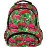 Plecak szkolny ST.RIGHT FLAMINGO PINK & GREEN różowe flamingi - BP07