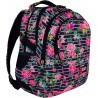 Plecak szkolny ST.RIGHT LIGHT ROSES różowe różyczki dla nastolatki