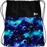 Worek na buty / na WF ST.RIGHT COSMOS galaktyka niebiesko-czarny - SO1