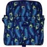 Listonoszka ST.RIGHT PEACOCK torba na ramię pawie pióra - SB01