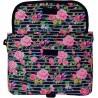 Listonoszka ST.RIGHT LIGHT ROSES torba na ramię różowe różyczki - SB01