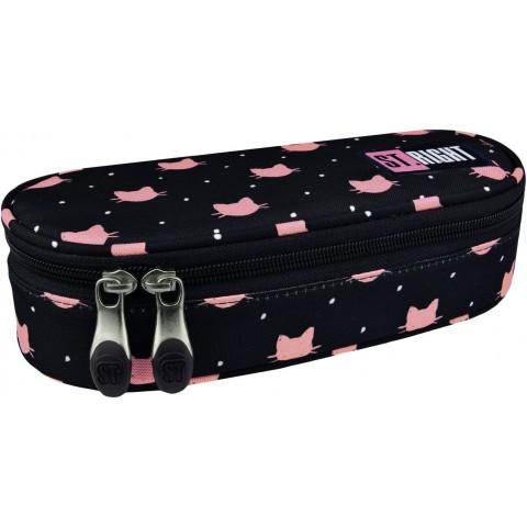 Piórnik / etui ST.RIGHT MEOW różowe kotki dla dziewczyn