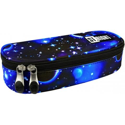 Piórnik / etui ST.RIGHT COSMOS galaktyka niebieski kosmos