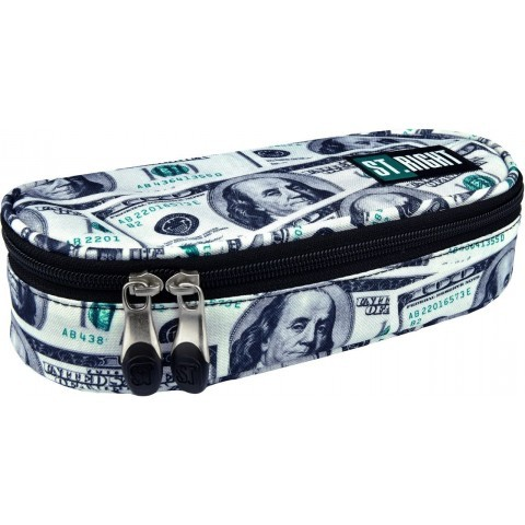 Prestiżowy piórnik / etui ST.RIGHT DOLLARS dolary full print