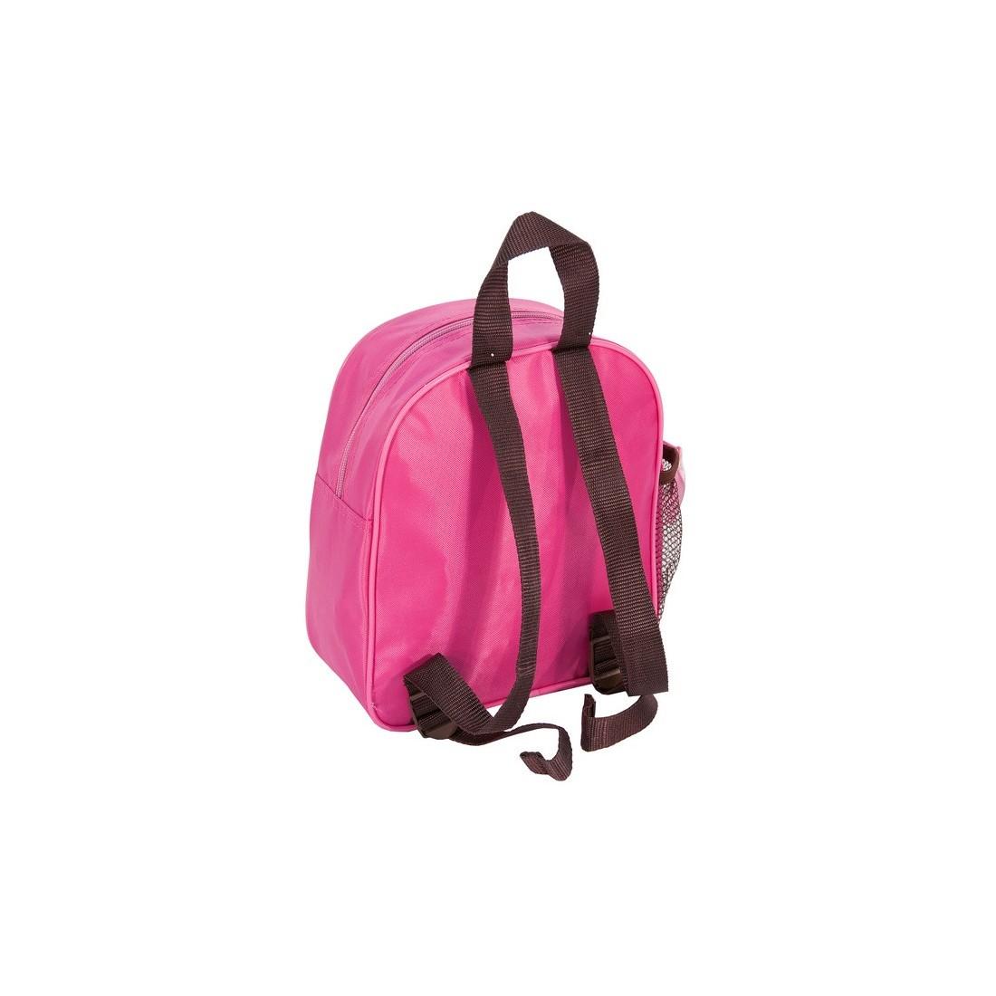 Plecaczek Rachael Hale z pieskiem różowy - plecak-tornister.pl