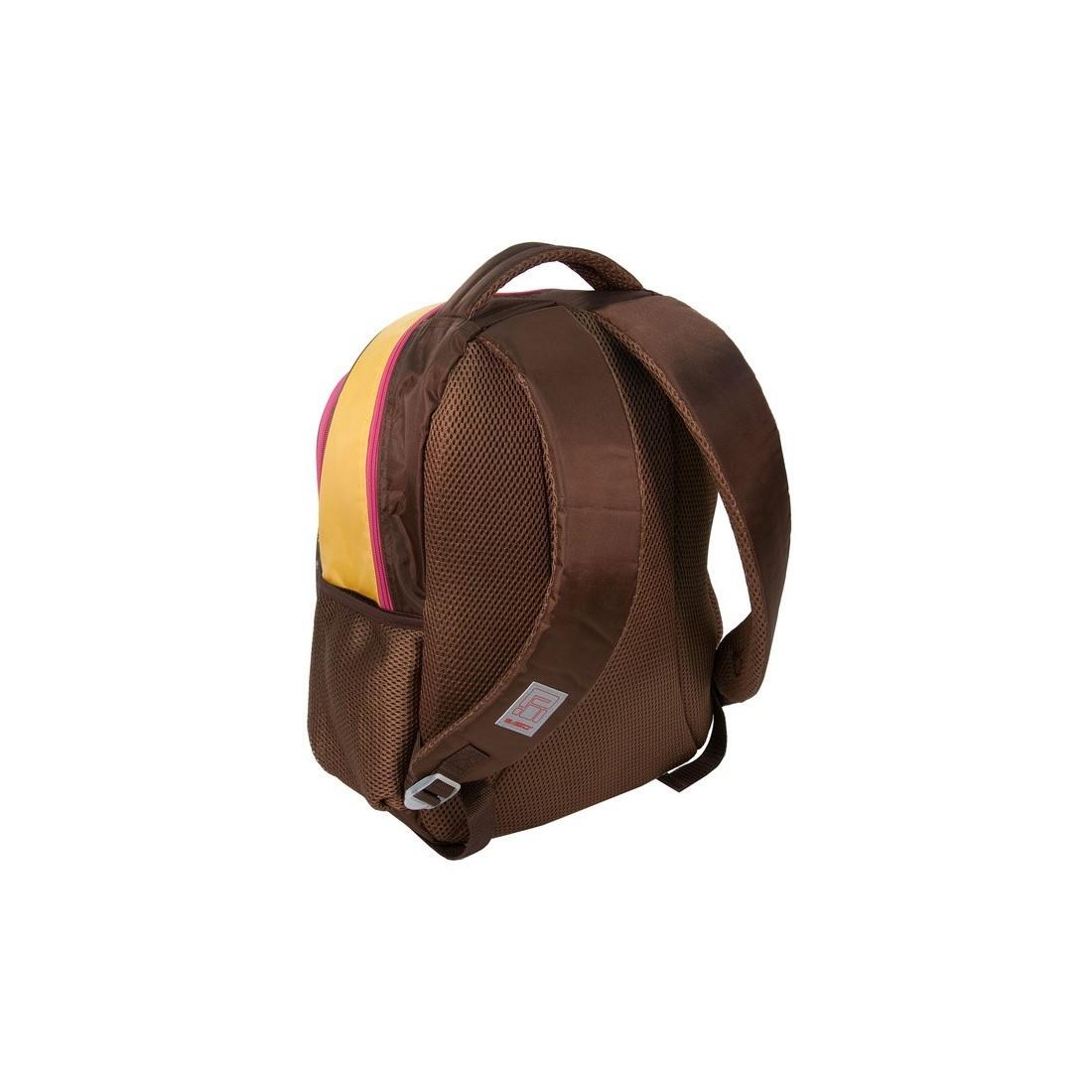 Plecak Szkolny Rachael Hale brązowy z pieskiem - plecak-tornister.pl