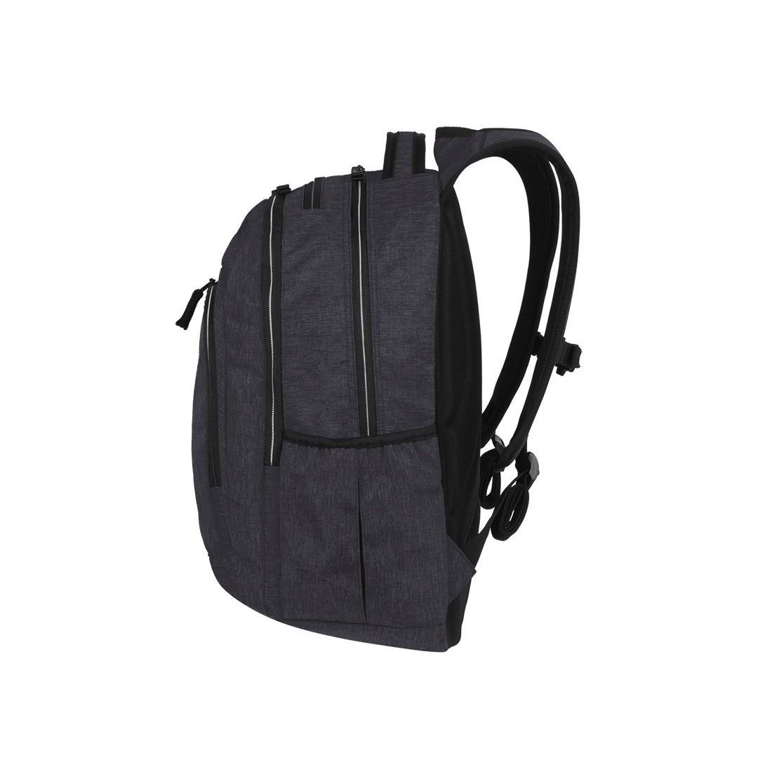 d8b077b3f4473 ... Plecak szkolny na laptop grafitowy   czarny CoolPack CP MERCATOR PLUS  SNOW BLACK   SILVER ...