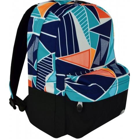 Plecak miejski ST.RIGHT ICE BLUE trójkąty kolorowa abstrakcja na laptopa dla ucznia