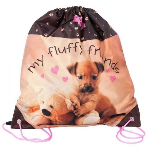 Worek Szkolny Rachael Hale fluffy friends z psem