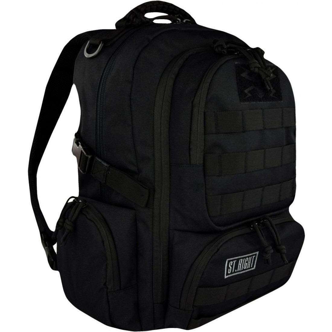 moda bardzo popularny 100% autentyczny Plecak camo 30 l. MILITARY BLACK czarny ST.RIGHT - BP36