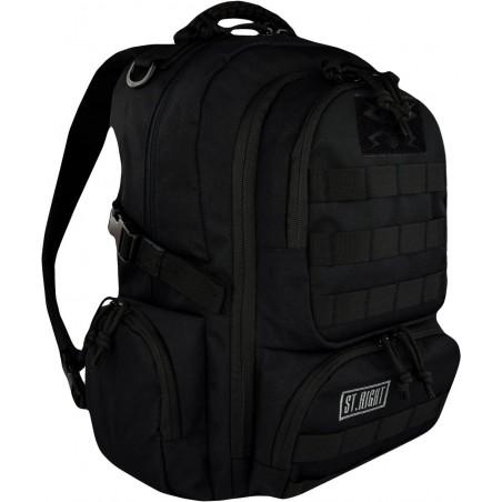 Plecak camo 30 l. MILITARY BLACK czarny ST.RIGHT - BP36