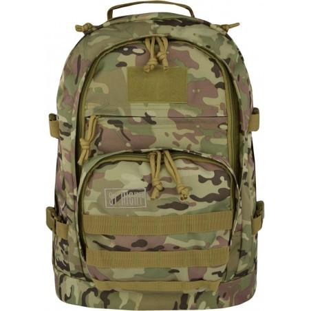 Plecak camo 40 l. MILITARY moro jasnozielony, plecak taktyczny ST.RIGHT - BP37