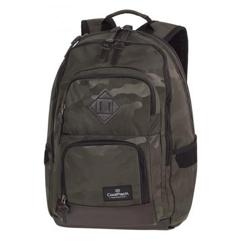 Plecak szkolny ciemnooliwkowe moro CoolPack CP UNIT CAMO OLIVE GREEN