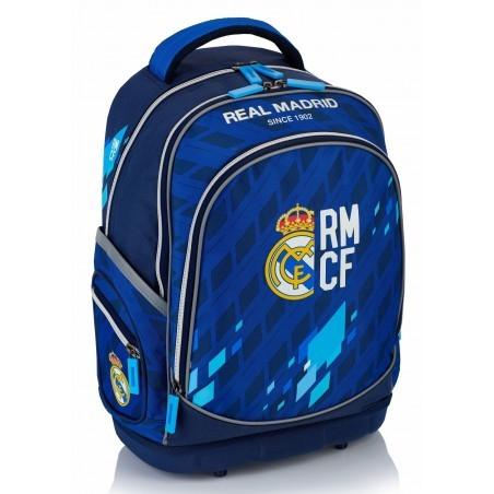 Plecak ergonomiczny Real Madryt granatowo - niebieski do szkoły - RM-131