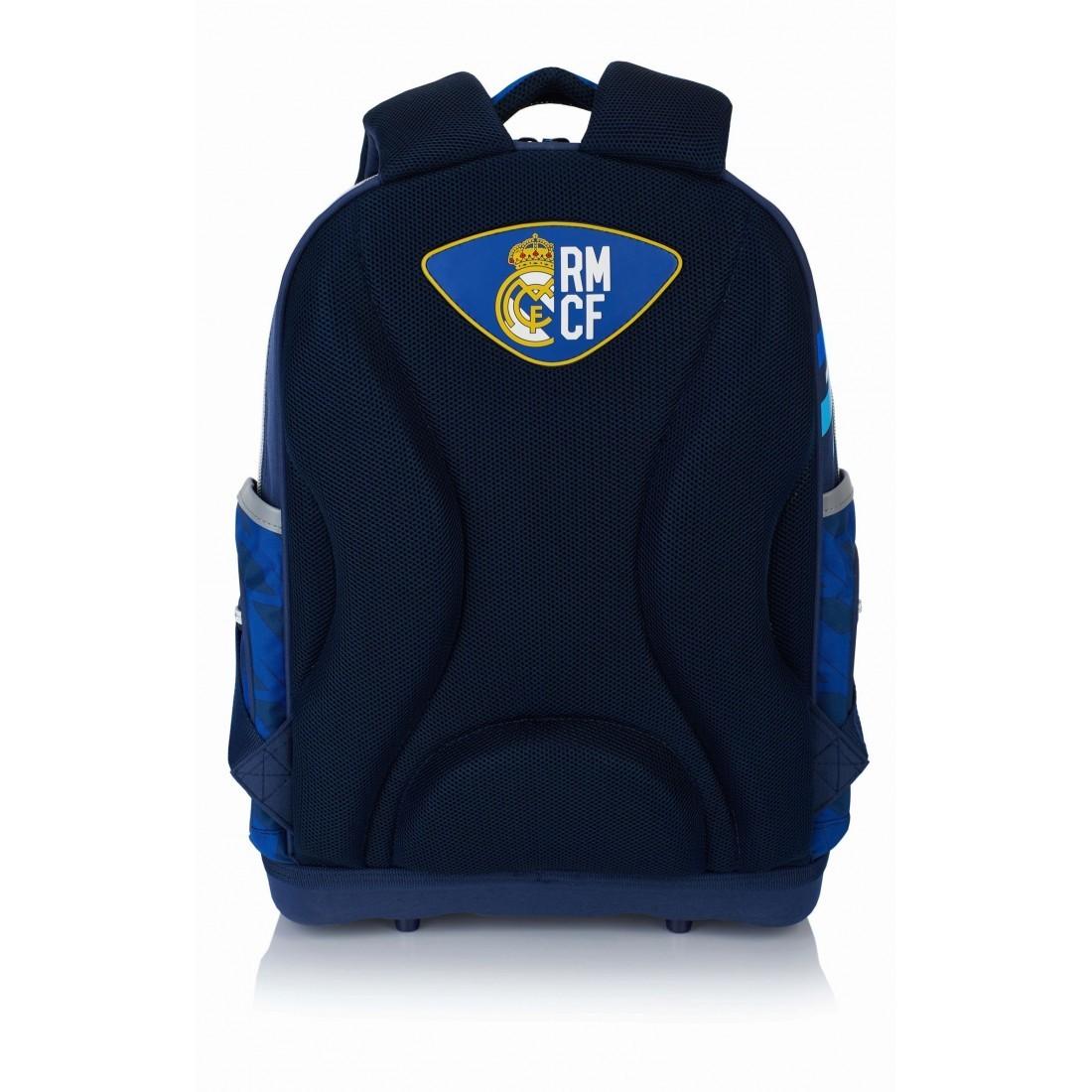 b1accec2d7e1e Plecak ergonomiczny Real Madryt granatowo - niebieski do szkoły - RM-131 -  plecak-tornister.pl